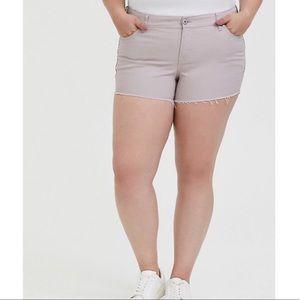 NWT Torrid Vintage Stretch Jean Shorts Size 22